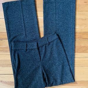 j.jill brown black dress pants sz 6Tall